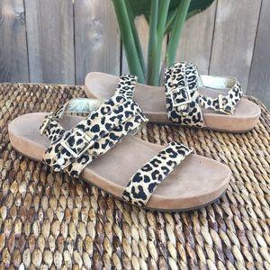 VIONIC Leopard Sandals Size 8
